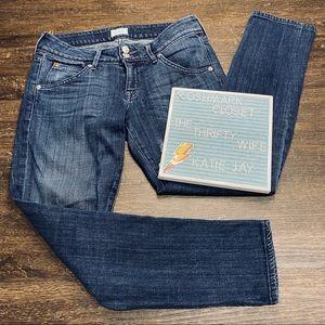 Hudson Skinny Dark Wash Denim Jeans Size 26